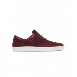 Chaussures etnies dory sc burgundy tan white 43