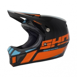 Casque integral shot revolt orange bleu kid xs 48 49cm