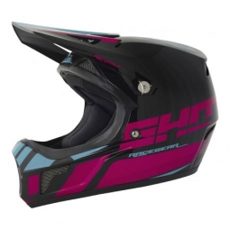 Casque integral shot revolt rose noir l 59 60 cm