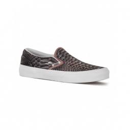 chaussures vans y classic slip on metallic snake 29