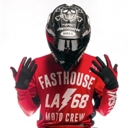 Gants Fasthouse Grindhouse Rouge