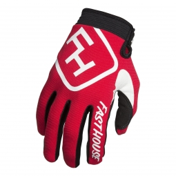 Gants fasthouse speedstyle rouge m