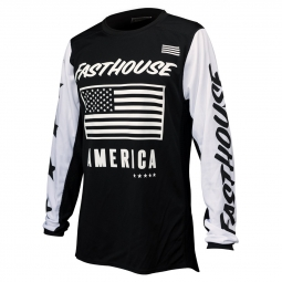 Maillot manches longues fasthouse american noir s