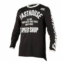 Maillot Manches Longues Fasthouse Classic Noir