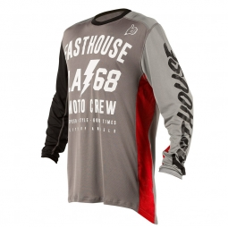 Maillot Manches Longues Fasthouse LA68 Gris