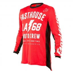 Maillot manches longues fasthouse la68 rouge m