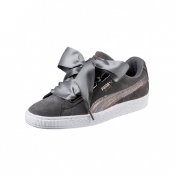 Chaussures puma w suede heart lunalux smoked pearl 36