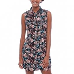 Robe Vans Wm Tropic Camp Dress - Black California Floral
