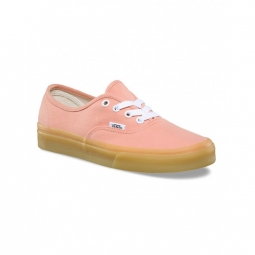 chaussures vans u authentic muted clay gum 36 1 2