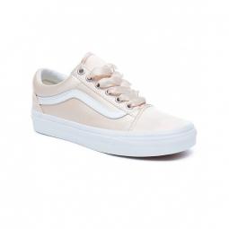 chaussures vans u old skool satin lux blush true white 36 1 2