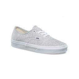 chaussures vans u authentic jersey gray true white 36 1 2