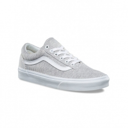 chaussures vans u old skool jersey gray true white 36 1 2
