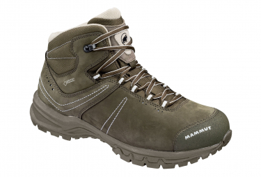 Image of Chaussures de randonnee femme mammut nova mid iii gtx kaki 37 1 3