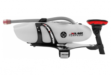 Image of Xlab torpedo versa 500 carbon airflow design white bottle