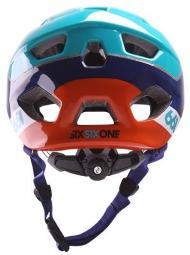 Casque Sixsixone Evo AM Orange/ Blue
