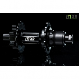 moyeu arriere 2en1 easy shift hxr components sram 142x12 et 148x12mm 32 trous brut