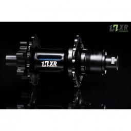 moyeu arriere 2en1 easy shift hxr components sram 142x12 et 148x12mm 32 trous bleu