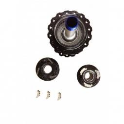 Moyeu Arrière 2en1 Easy Shift HxR Components SRAM XD 142x12 et 148x12mm 32 trous BLEU