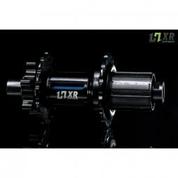 moyeu arriere 2en1 easy shift hxr components shimano 142x12 et 148x12mm 32 trous bleu