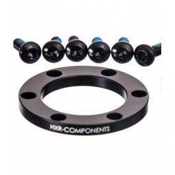 Kit de conversions avant HxR Components DH BOOST 20x110mm Noir