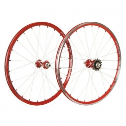 Roues excess 351 20 x1 1 8 rouge