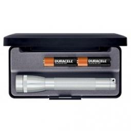 Lampe Mini AA 14.5cm - Argent Maglite
