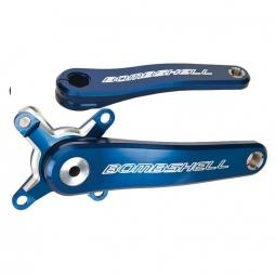 Pedalier bombshell ratchet pro bleu 160