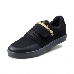 Image of Chaussures afton vectal black gold 43 1 2