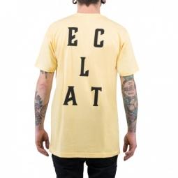 Image of Tee shirt eclat mfg company yellow m