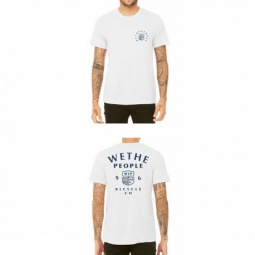 Image of Tee shirt wethepeople crest white xxl