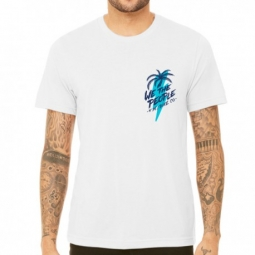 Tee shirt wethepeople south beach white wtp x fluor collab l