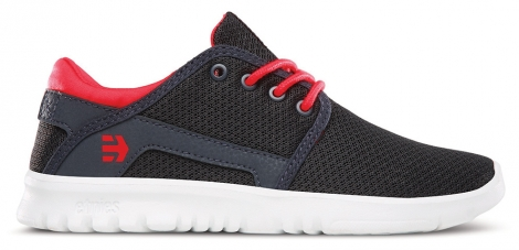 Etnies kids scout navy red 36 1 2