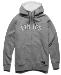Etnies summit sherpa zip grey heather m