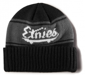 ETNIES STRIFE BEANIE BLACK GREY