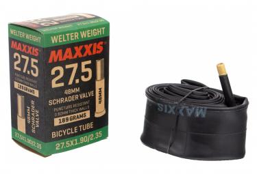 Chambre à Air Maxxis Welter Weight 27.5'' Schrader 48 mm