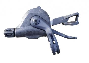 Commande droite hopp carbon parts 11 vitesses collier standard