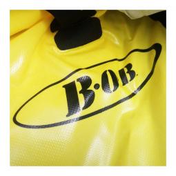 Sac de voyage BOB pour remorque BOB Yak ou Ibex mono roue jaune .
