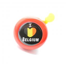Sonnette pour vélo I love Belgium .
