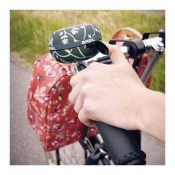 Basil - Wanderlust Sonnette noir 80 mm pour vélo