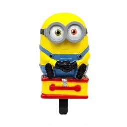 Klaxon minion 3d pour velo enfant