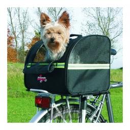 Sac de transport pour chien sur porte bagage biker bag