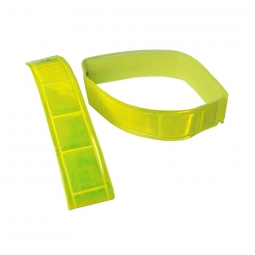 Pince pantalon jaune fluo - La Paire