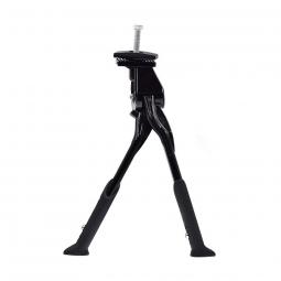 Bequille double velo repliable sur le cote et hauteur ajustable