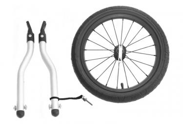Kit footing pour remorque vélo XLC Mono² .