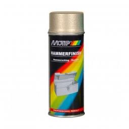 Peinture MOTIP de métal martelé Or 400 ml