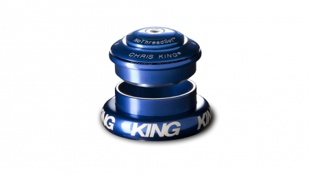 Jeu de direction externe chris king inset 7 1 1 8 haut 1 5 bas bleu