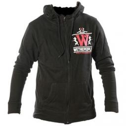 Sweat shirt zip capuche wtp steelfactory black s