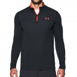 Tee shirt a manches longues under armour threadborne fitted 1 4 zip l