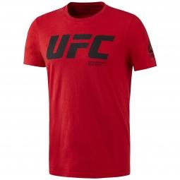Tee shirt manches longues reebok ufc fg logo ss l