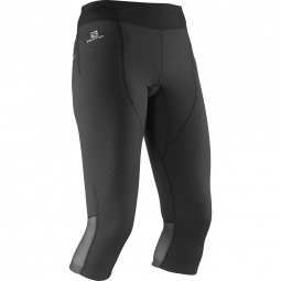 Cuissard de running salomon exo pro 3 4 tight w xl